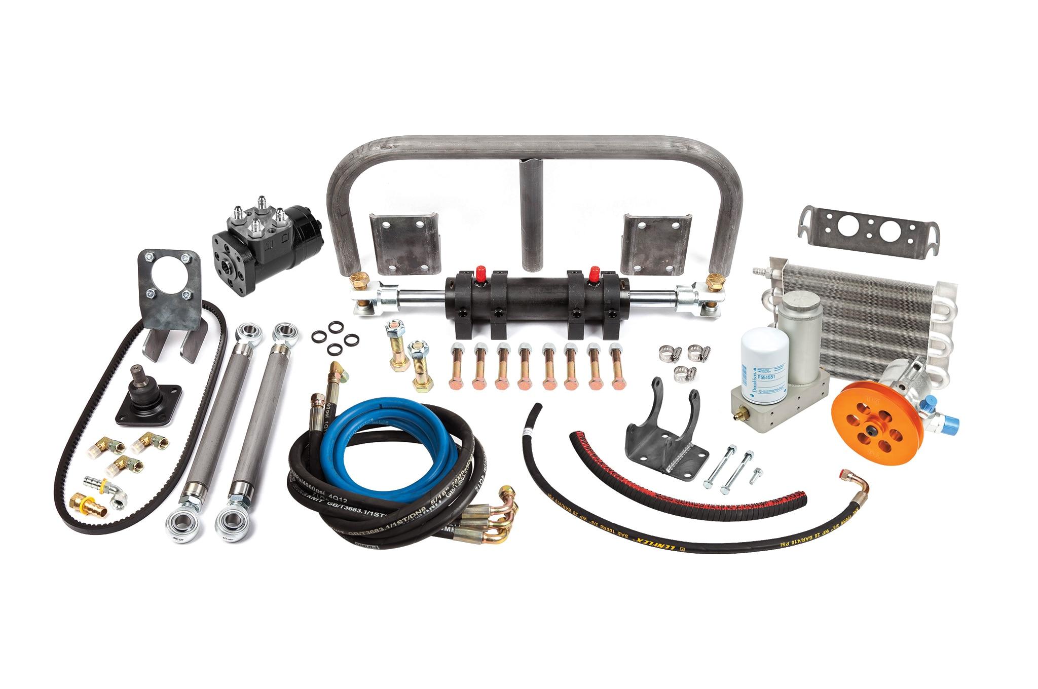 Trail Gears full hydraulic steering kit