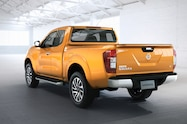 Nissan NP300 Navara 12th gen rear side view