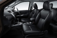 Nissan NP300 Navara 12th gen interior dark side view