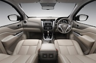 Nissan NP300 Navara 12th gen interior tan