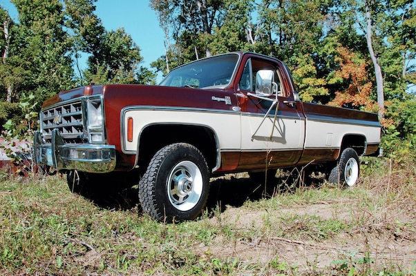 78 chevy full time 4x4