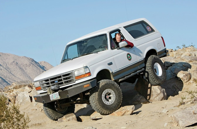 1993 Ford Bronco - In Process