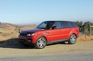2014 Range Rover Sport front three quarter