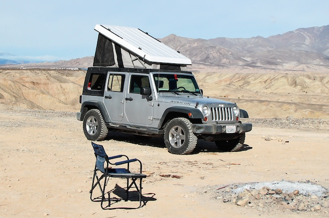 2007 Jeep Wrangler Unlimited Camper - Camping In Comfort