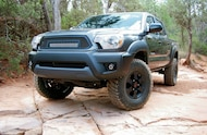 toyota tacoma with kc lights