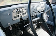 1965 toyota fj45lv land crusier stock dash