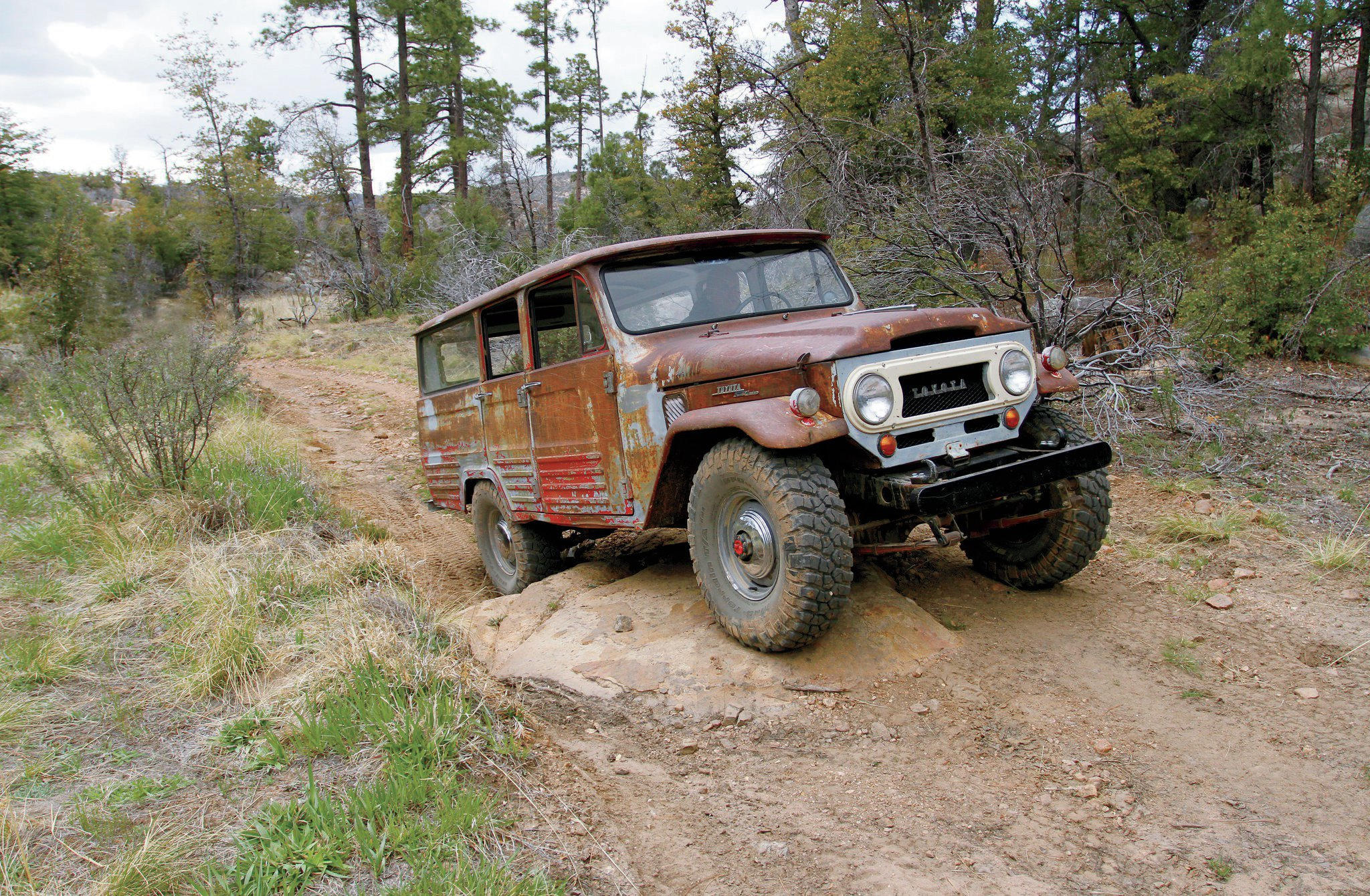 1965 toyota fj45lv land crusier wheeling