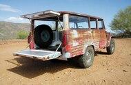 1965 toyota fj45lv land crusier tailgate