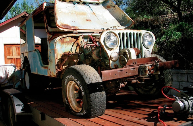 Tips & Tricks To Revive Abandoned 4x4s - Mothball Warriors