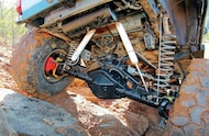 1994 Jeep Grand Cherokee suspension system