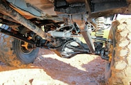 1994 Jeep Grand Cherokee triangulated four link suspension