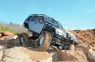 1994 Jeep Grand Cherokee front three quarter