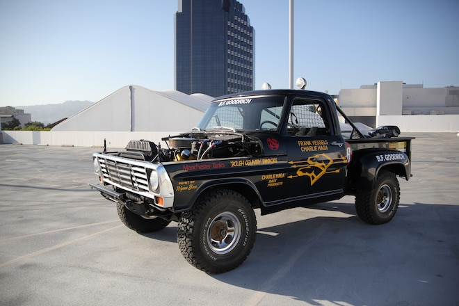 """Frank """"Scoop"""" Vessels' 1972 Ford F100 Race Truck Goes To Auction"""
