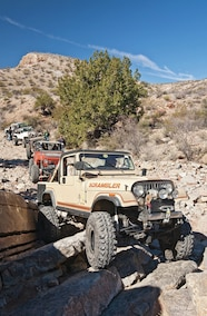jeeps wheeling at chile challenge new mexico