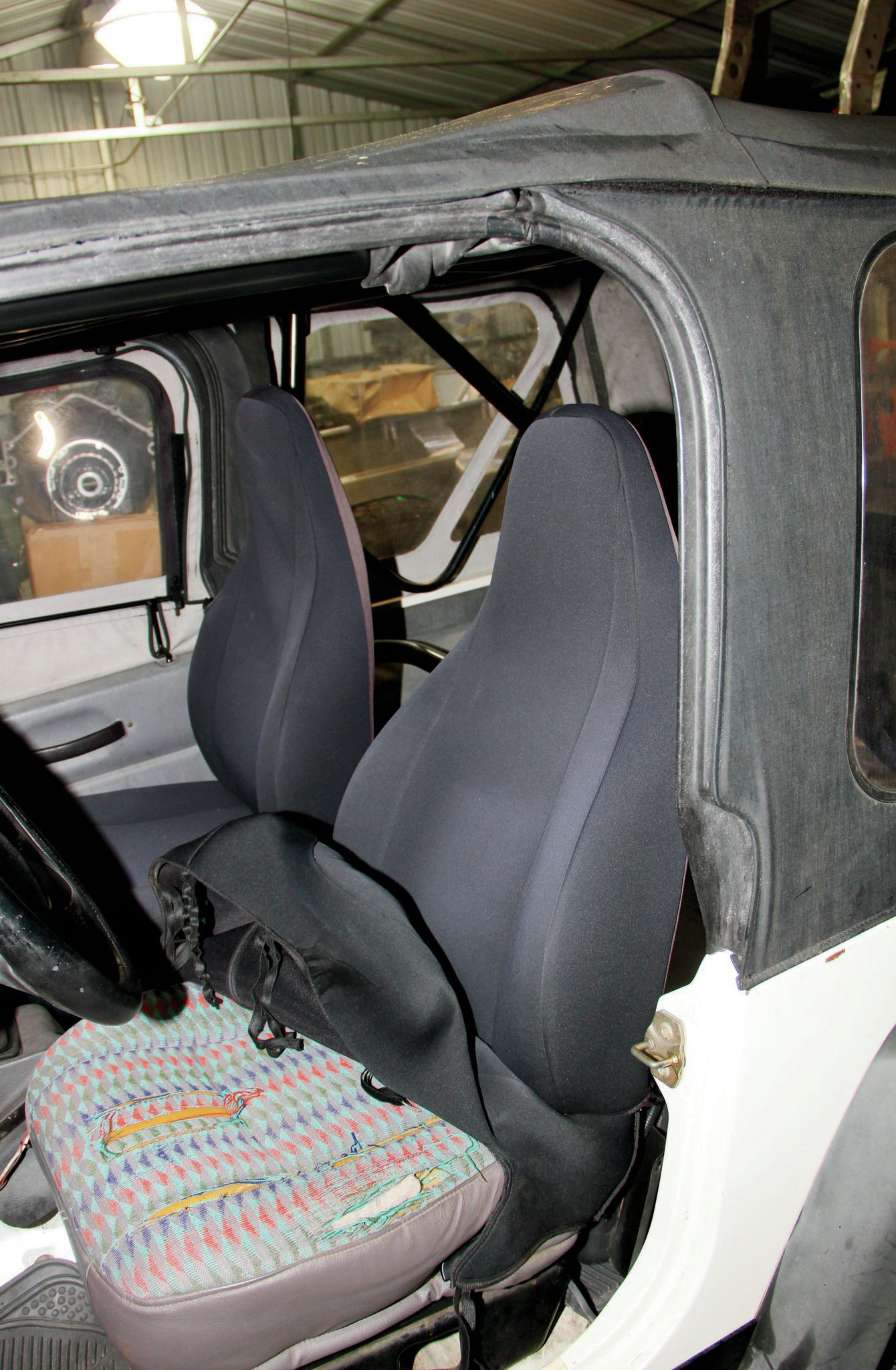 stock jeep tj seats