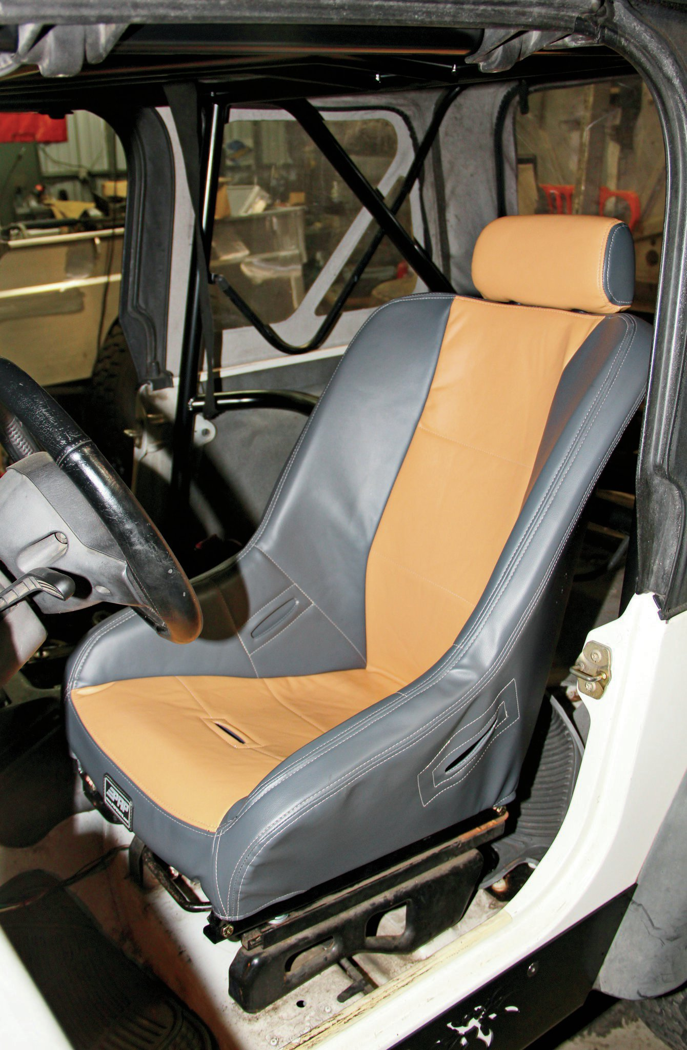 prp suspension seat installed