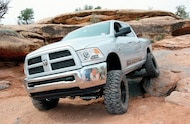 Dodge Ram 2500 front three quarter