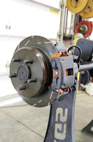 ebc brakes installed