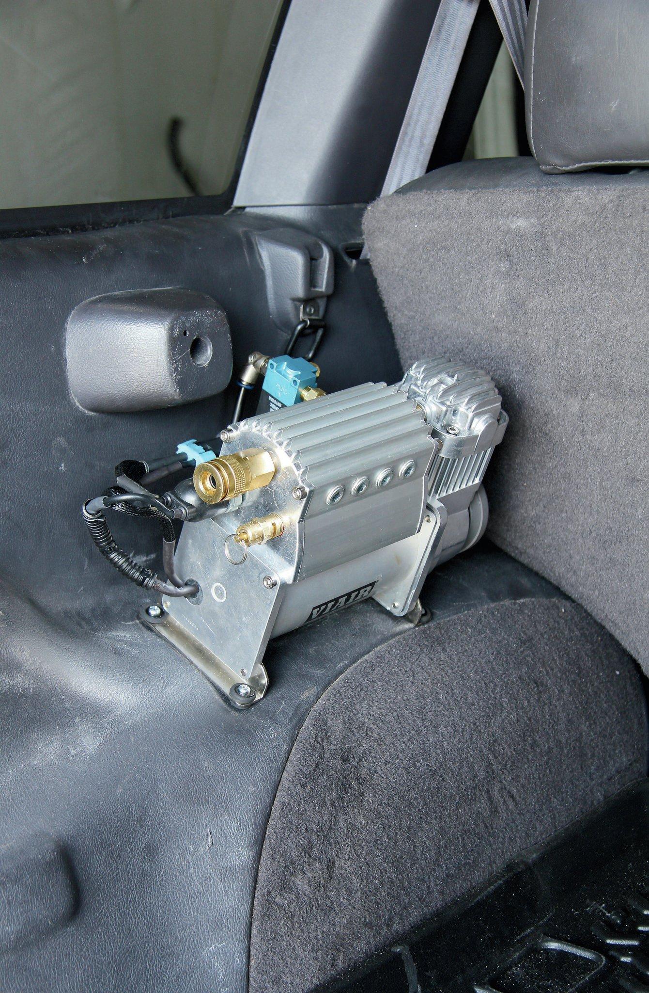 viair air compressor installed