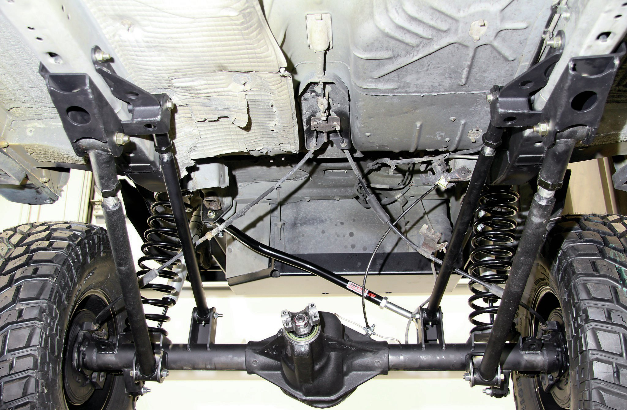 bds long arm suspension installed
