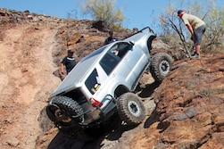 The Painted Trails of Parker - AZ Rocks 2014