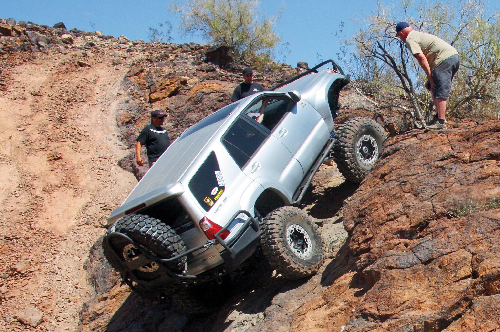 2004 Toyota 4Runner rear three quarter