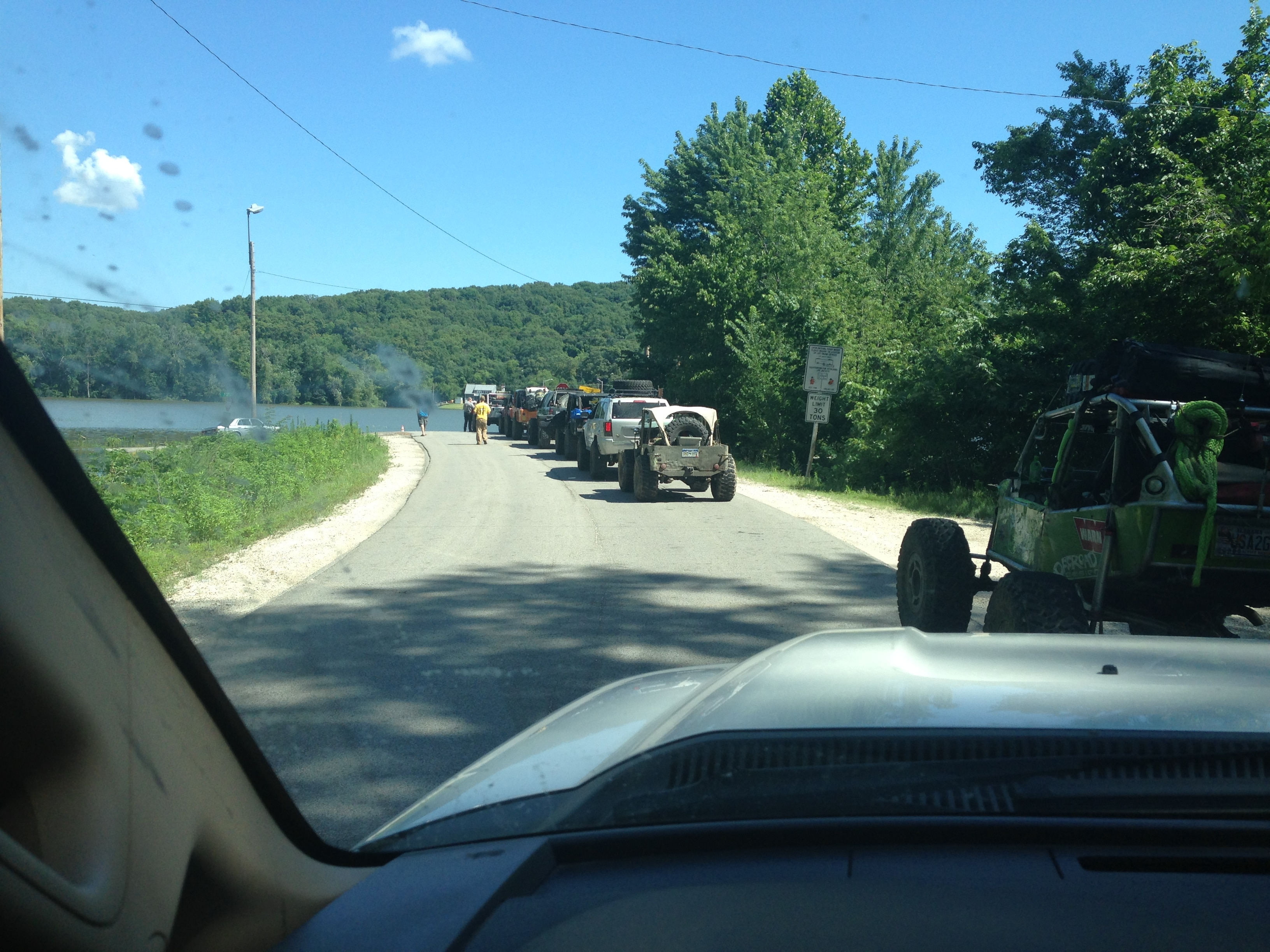 Ultimate Adventure 2014 Day 7 Road Day  4  Crossing The Mississippi River again.JPG