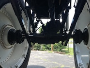 Ultimate Adventure 2014 Day 7 Road Day  20  Bigfoot Monster Truck Axle.JPG