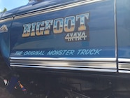 Ultimate Adventure 2014 Day 7 Road Day  31  Bigfoot Monster Truck door.JPG
