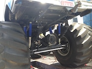 Ultimate Adventure 2014 Day 7 Road Day  34  Bigfoot Monster Truck rear axle.JPG