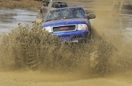 1998 chevy s10 mega truck in mud pit