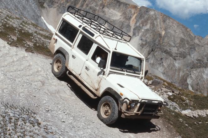 1993 Land Rover Defender 110 - Backward Glances