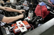 odyssey battery installed