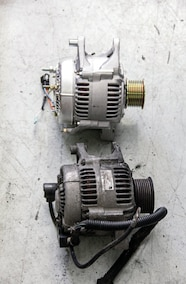 new and old alternator
