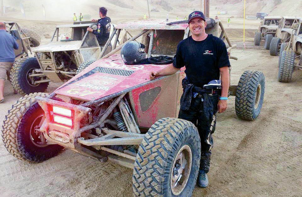 Loren Healy and his Jimmy's 4x4 IFS buggy look like the new driving forces in Ultra4.