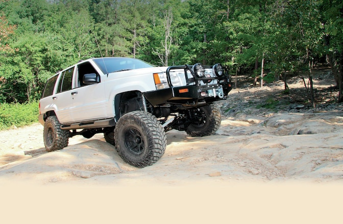 1998 Jeep Grand Cherokee BDS Suspension Long-Arm Install