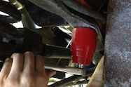 Ultimate Super Dirty 2013 Ford F250 Super Duty Energy Suspension Upgrades  7  rear bumpstop installed
