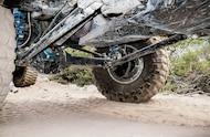 front custom 3 link suspension