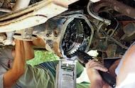 broken rear differential