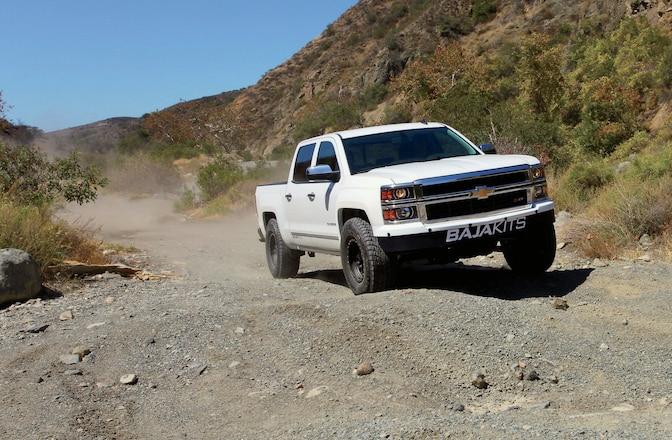 2014 Chevy SIlverado 1500 Long-Travel Install - Baja Ready Bow Tie