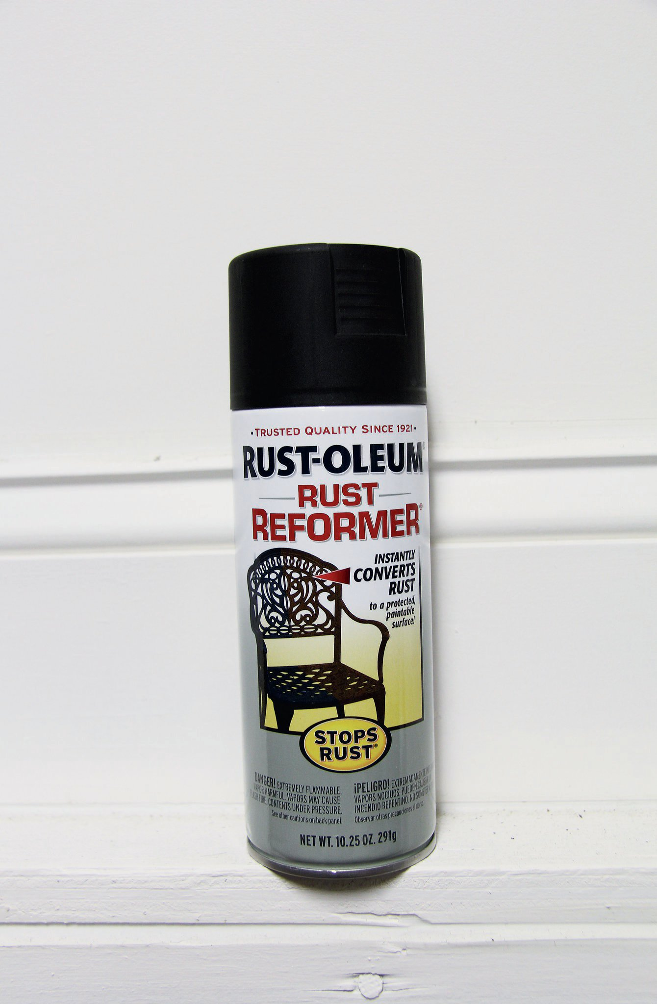 We don't put a lot of trust in rust-reformer spray paint, but we do use it from time to time. We find it most helpful on under carriage parts to keep them looking more presentable. A few bucks for a spray can save you a lot of money down the road.