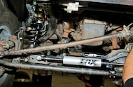 fox steering stabilizer installed