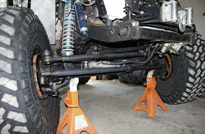 Jeep Wrangler TJ 1-Ton Steering Upgrade - Crossed Over
