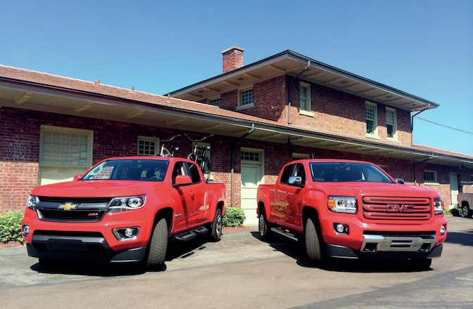 The New-Generation 2015 Chevy Colorado & GMC Canyon