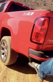 2015 chevy colorado bumper step