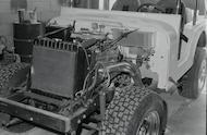 chevy 350 v8 installed in jeep