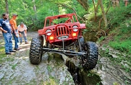 jeep buggy wheeling the pike county trails