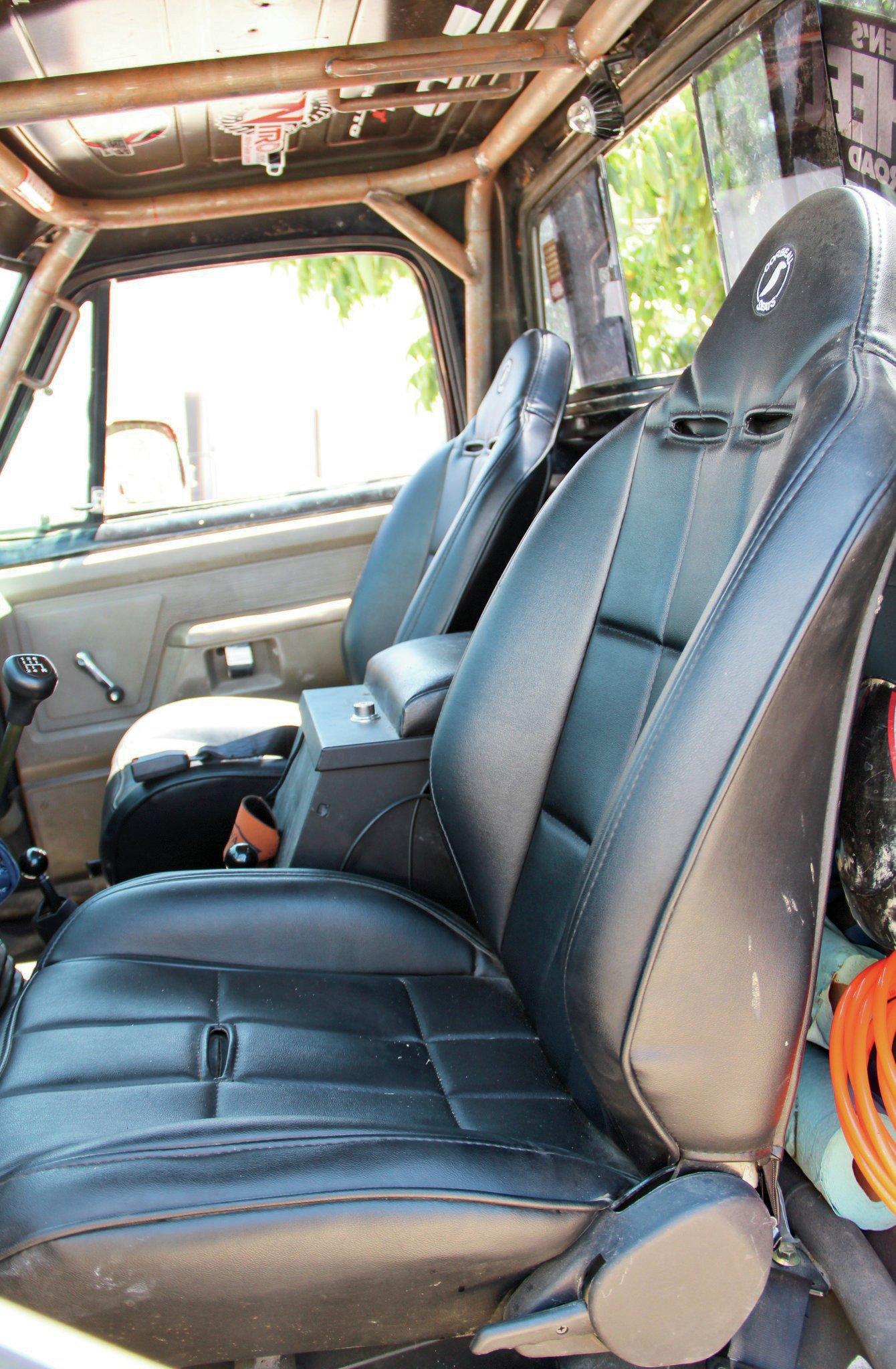 corbeau seats installed