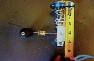 measuring sending unit depth