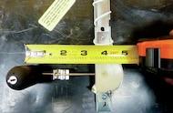 measuring float arm length